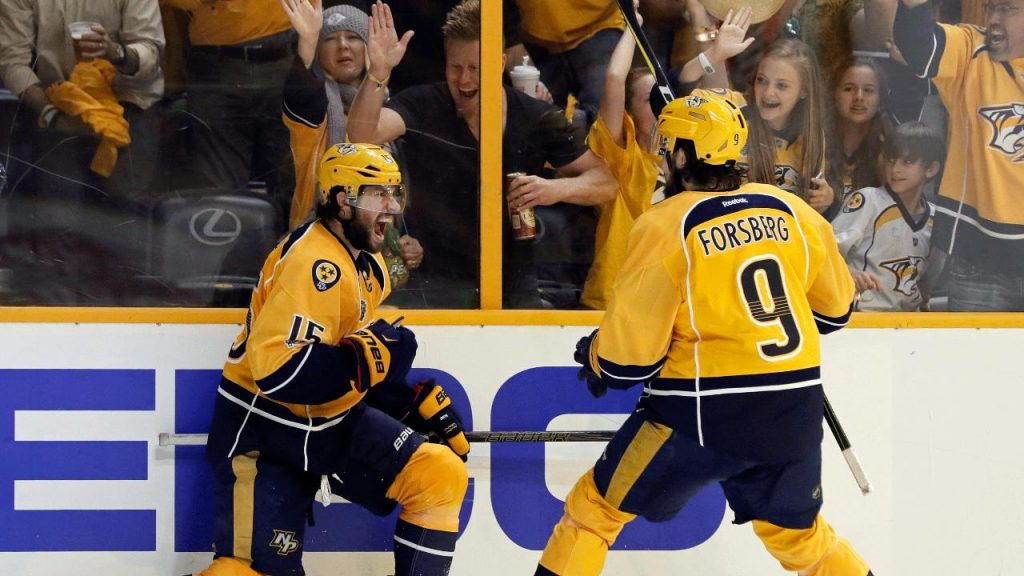 Predators' Game 3 Victory Will Go Down In Nashville Lore: Holy Smokes. ... Take A Bow, Nashville. (video)