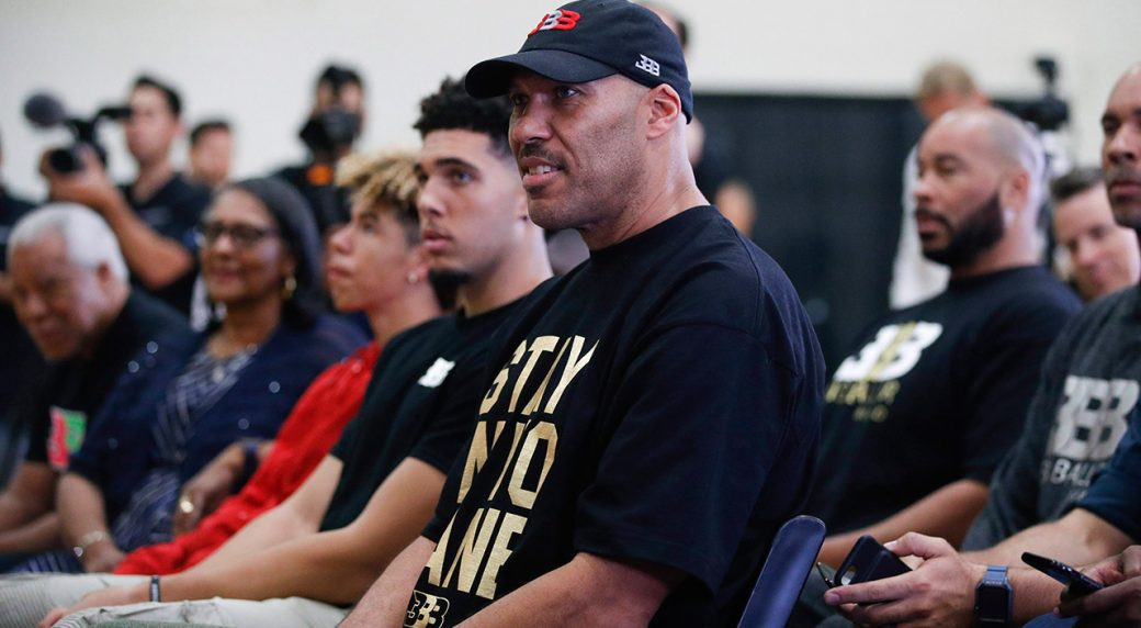 LaVar Ball: I'm Pulling LaMelo Out of Chino Hills, Home-Schooling Him