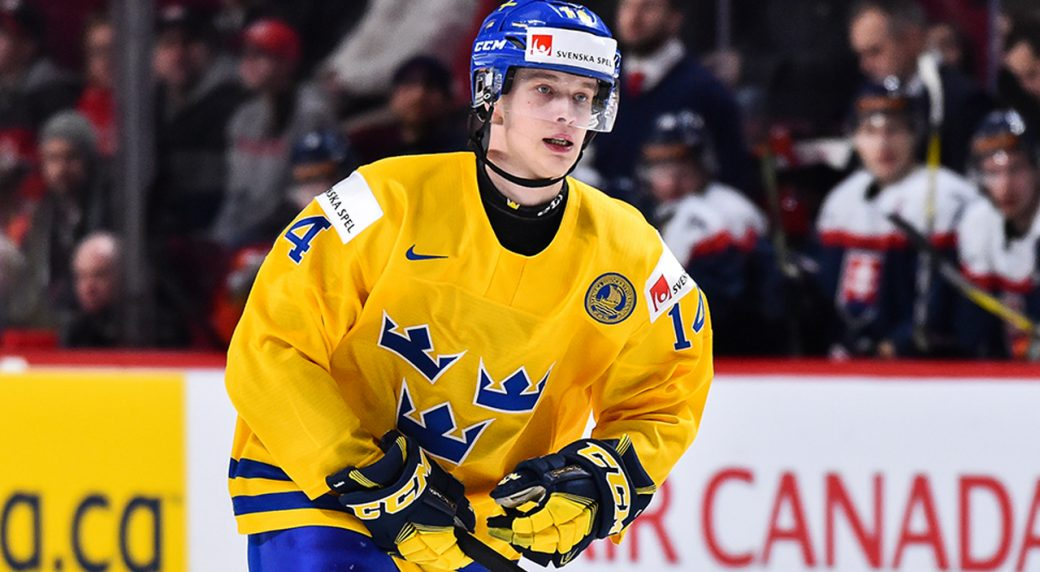 Canucks prospect Elias Pettersson named Swedish League playoff MVP ... fe4426f3c