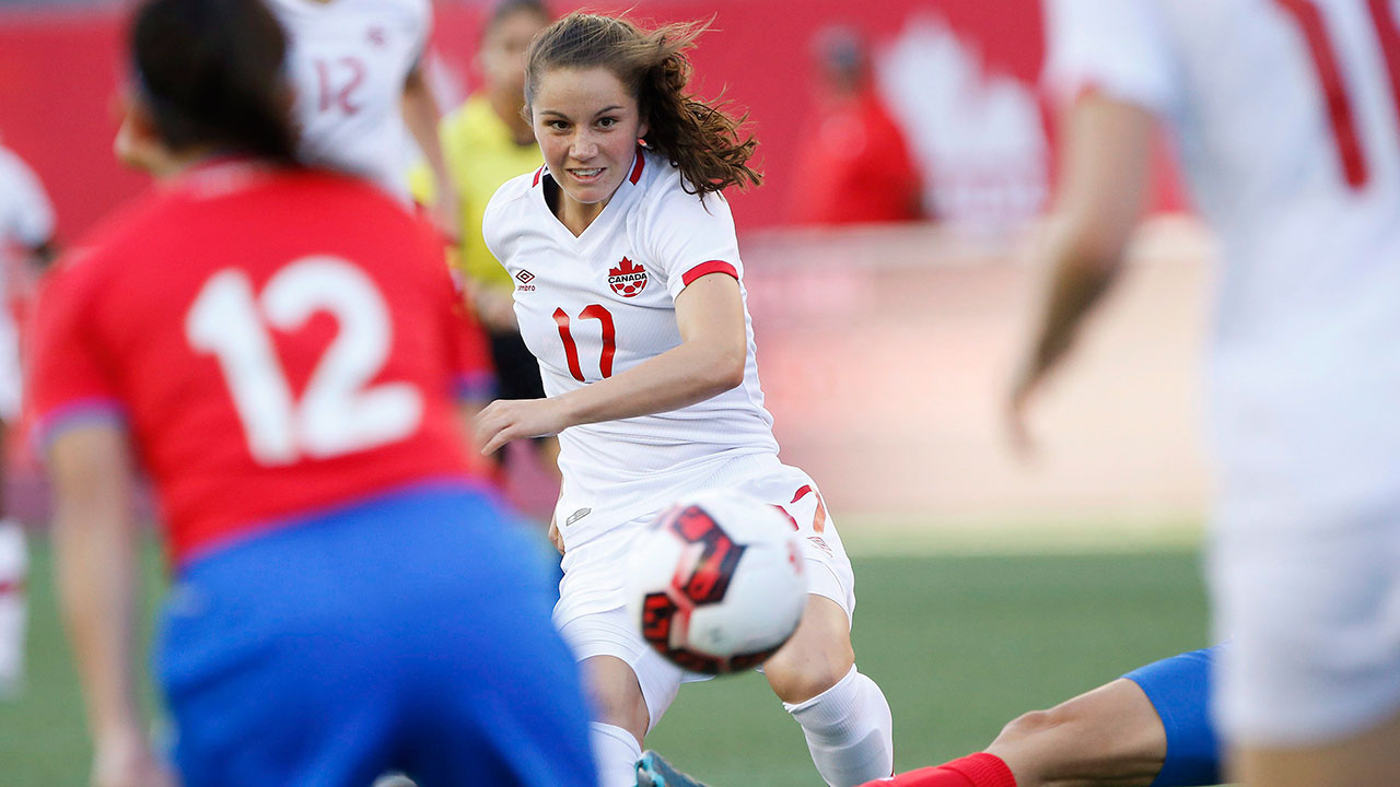 Canadian Jessie Fleming a finalist for Honda soccer award