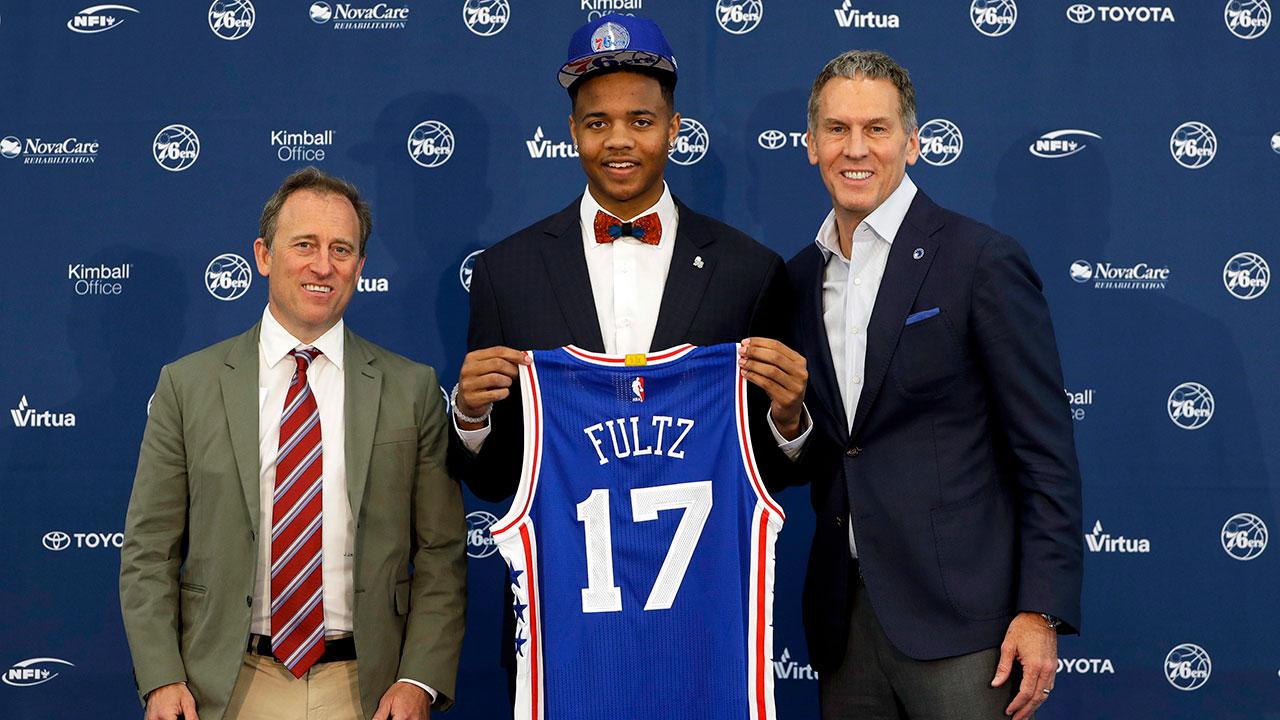 Markelle Fultz already becoming fan favourite in Philadelphia ... 921122c8c