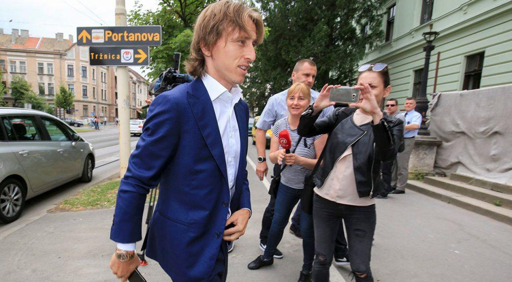 5050f9edb Real Madrid s Luka Modric questioned for alleged perjury - Sportsnet.ca