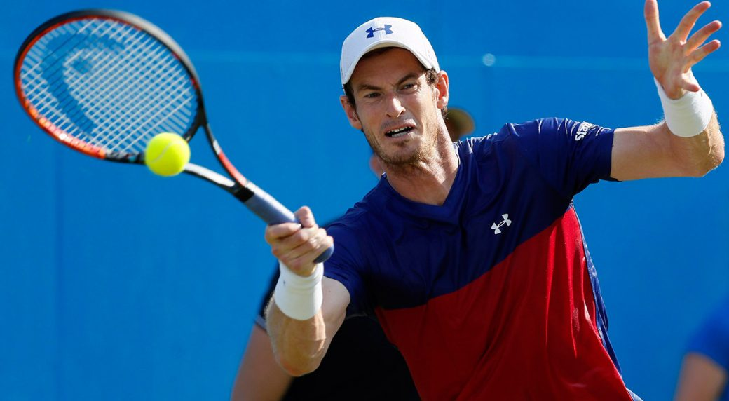 Andy Murray suffers injury scare ahead of Wimbledon