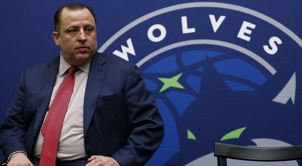 Timberwolves fire coach Tom Thibodeau