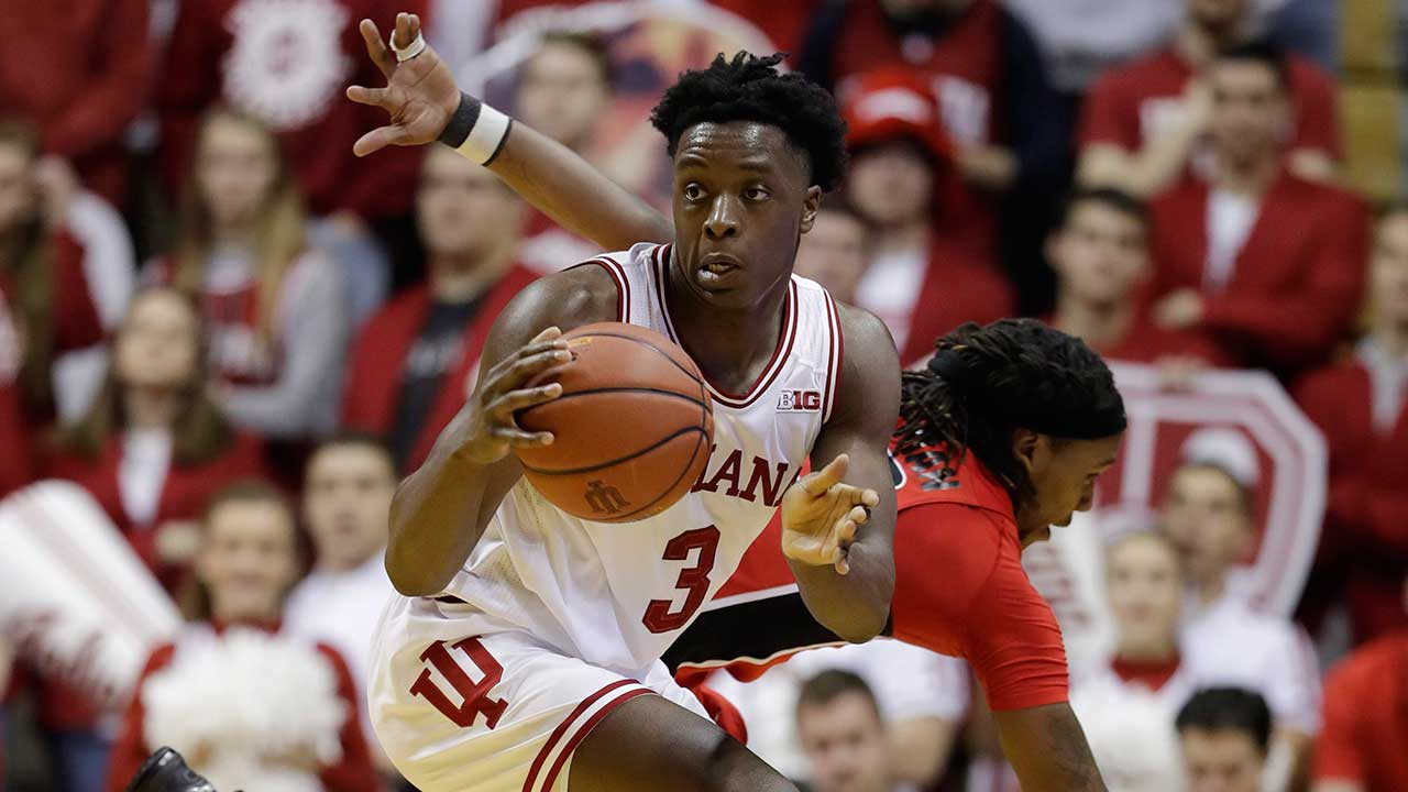 Raptors select Indiana forward OG Anunoby with 23rd ...
