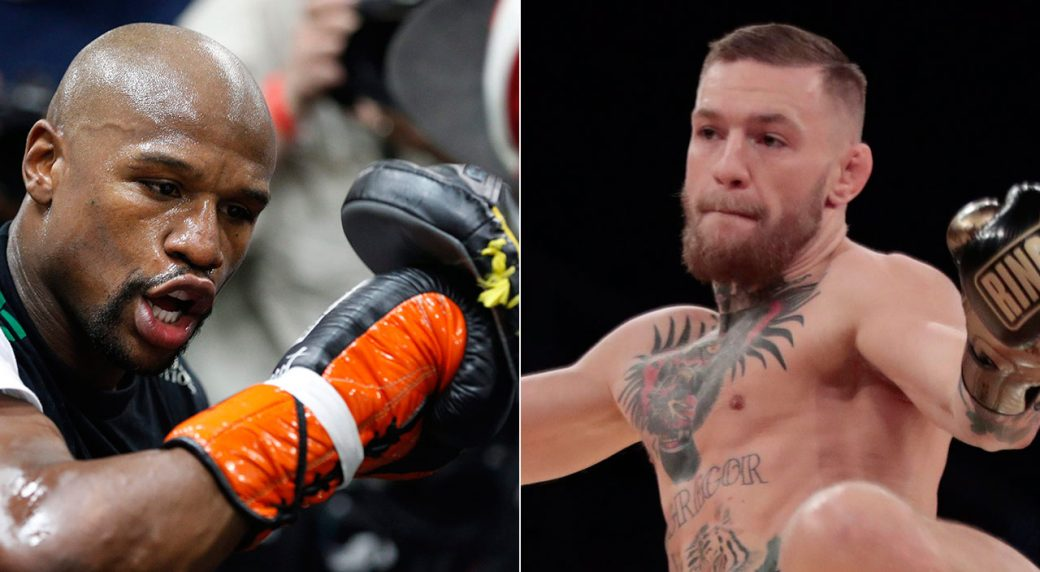 Video of Mayweather and McGregor training side by side is shocking