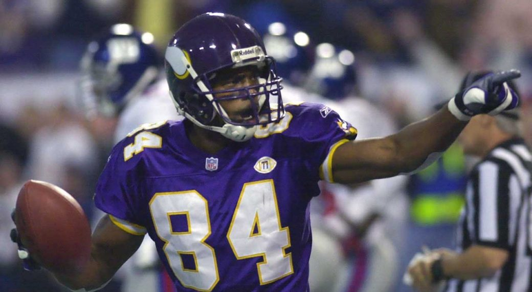 c0bc20cf4edeb1 The Minnesota Vikings will induct Randy Moss into the team's Ring of Honor.  (Ann Heisenfelt/AP)