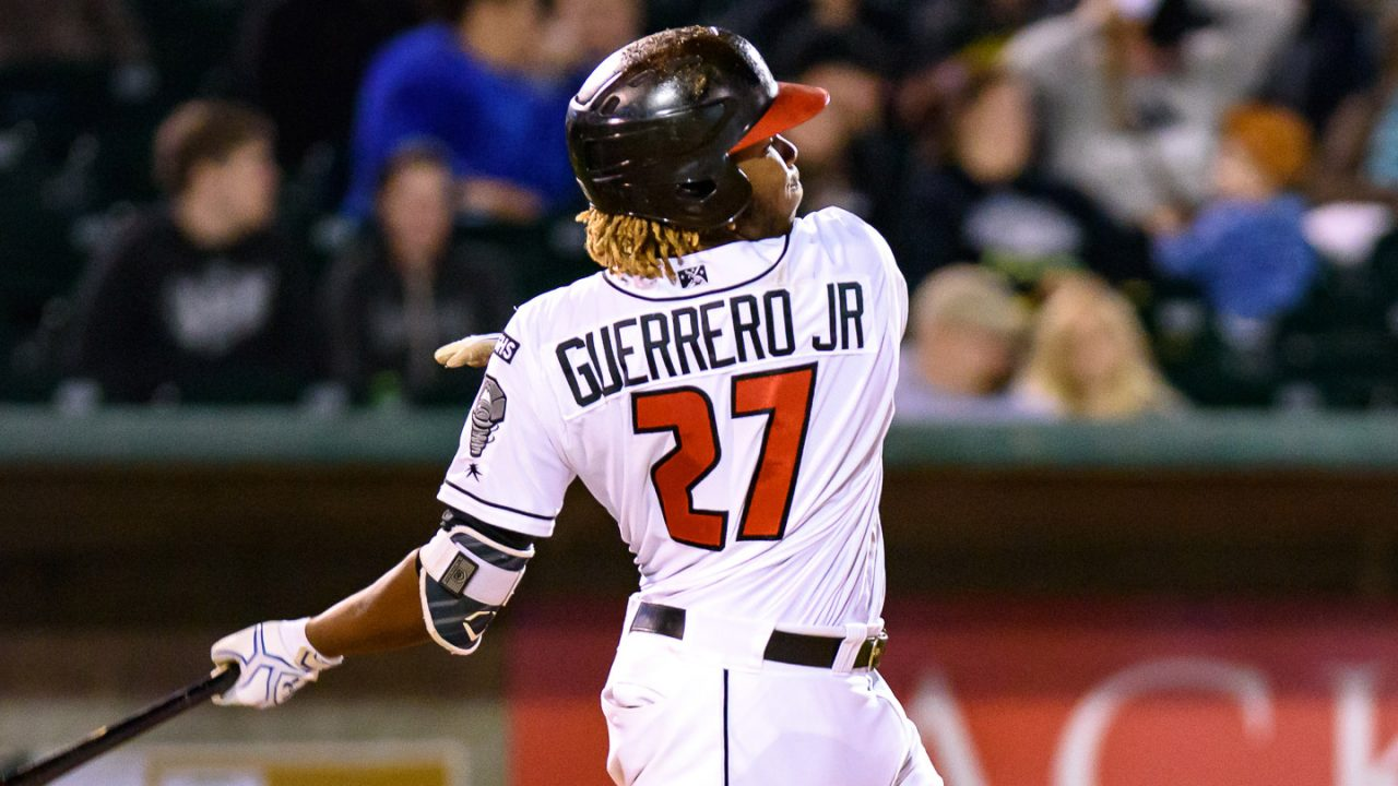 Watch: Vladimir Guerrero Jr. hits walk-off home run for Fisher Cats