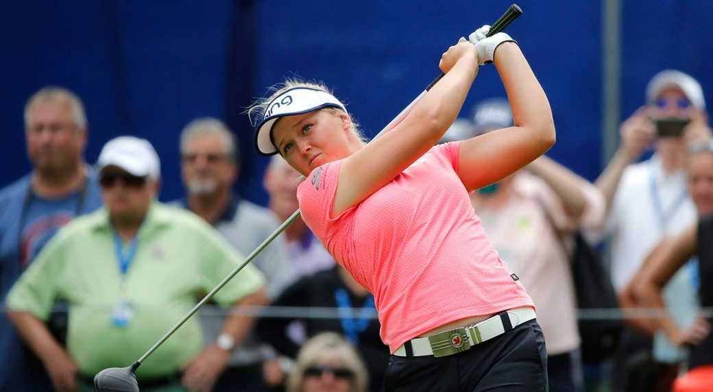 Danielle Kang shoots 66 at KPMG Women's PGA Championship to share lead