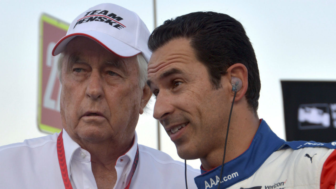 Helio Castroneves posts fastest speed in practice for Indy 500