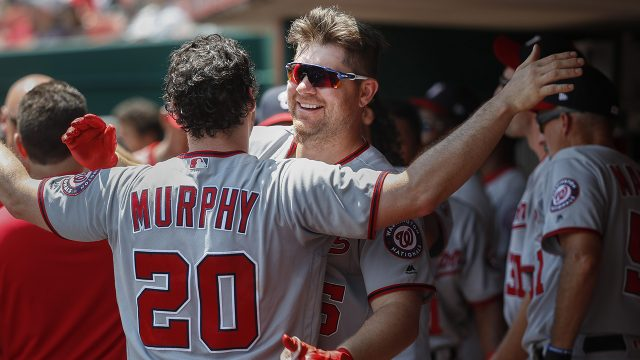 Murphy's two-homer day leads Nationals to rout of Reds