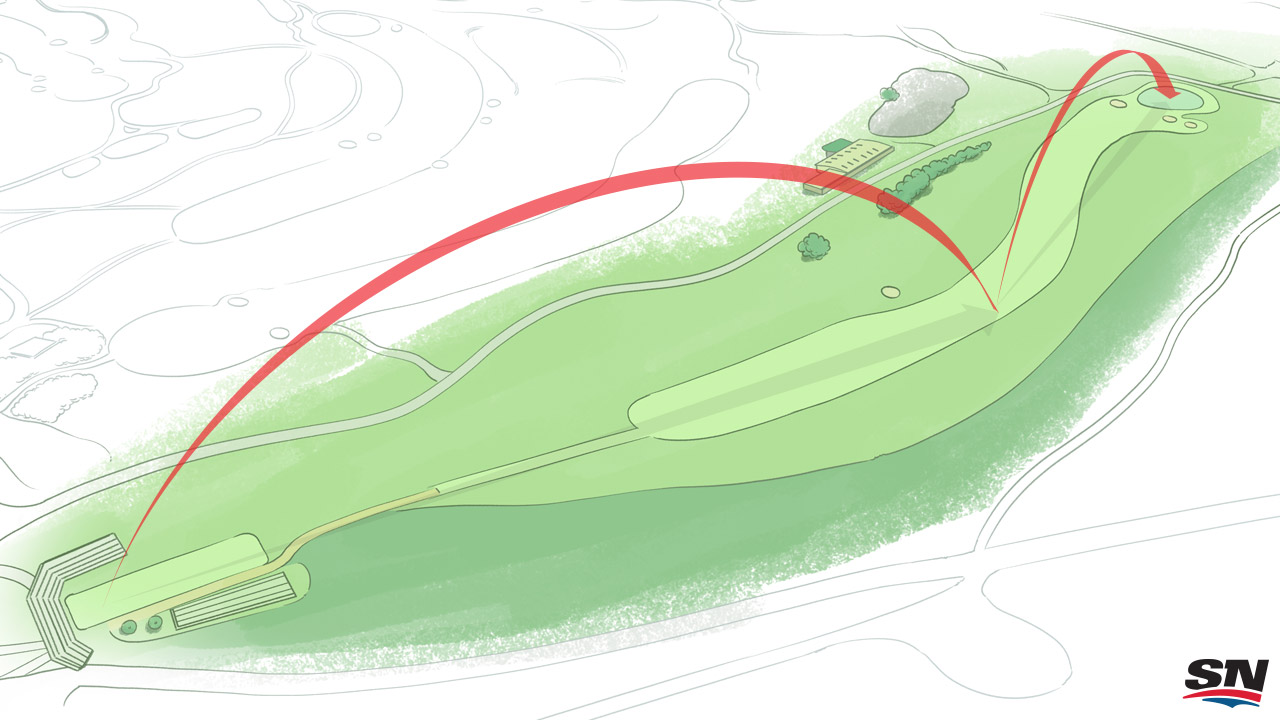 Four Holes That Will Define 146th Open Championship Golf Hole Diagram The Royal Birkdale First Sportsnet Kagan Mcleod