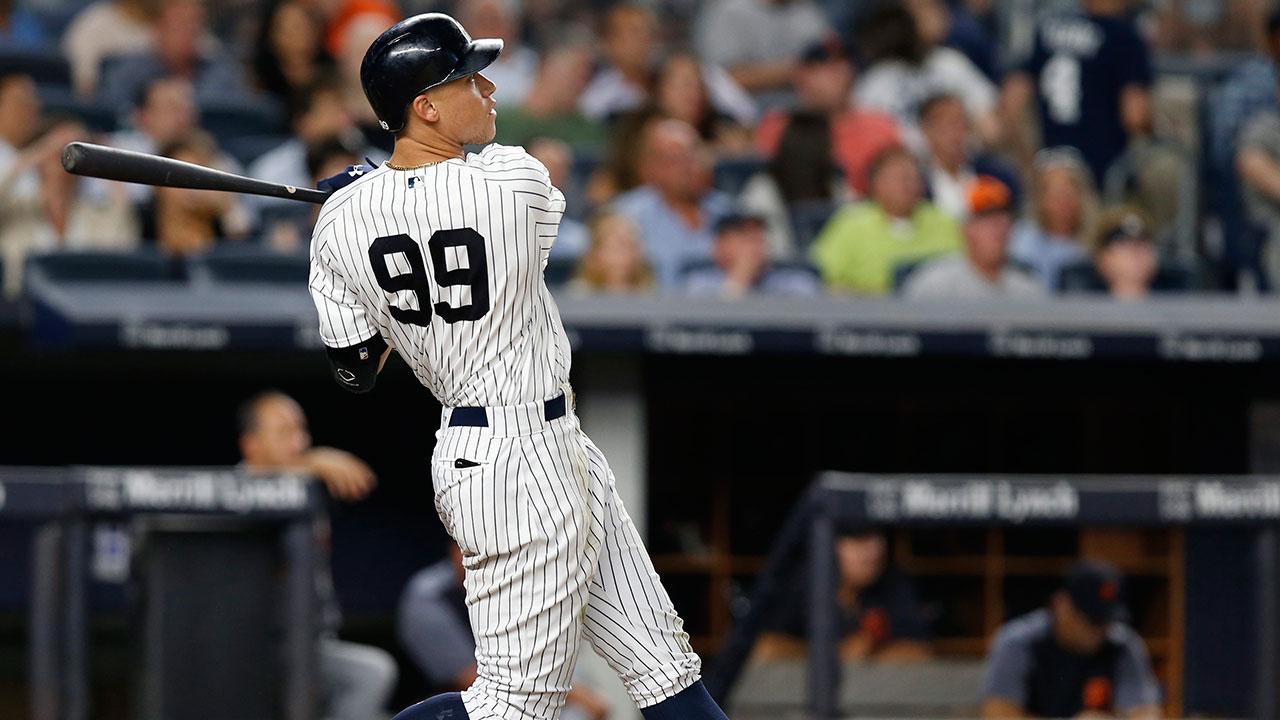 Judge clubs 44th home run as Yankees squeak past Twins