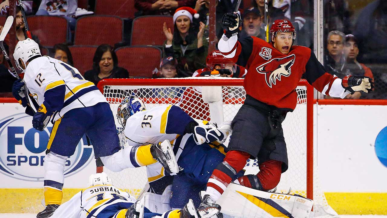Coyotes sign Tyler Gaudet to two-way contract