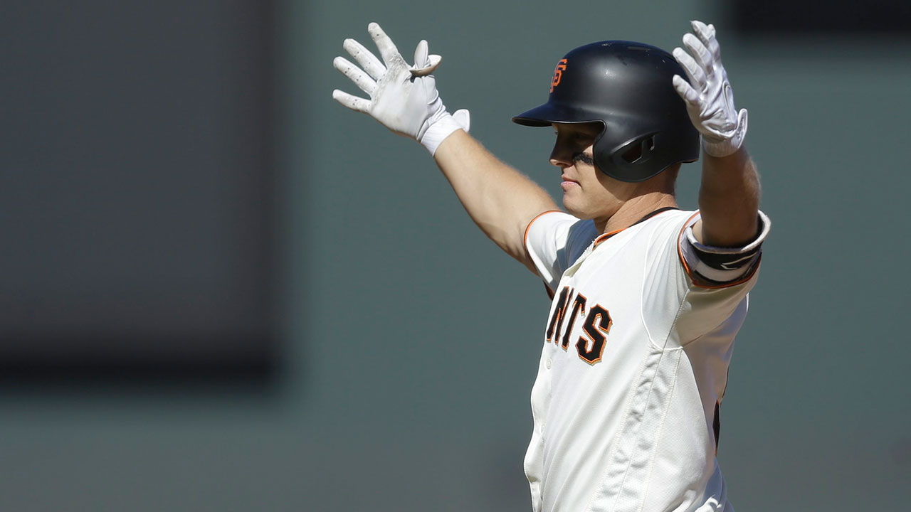 Hundley's single lifts Giants past Padres in 12th inning