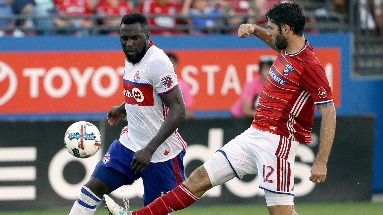 TFC's Altidore out vs. Impact; Giovinco questionable