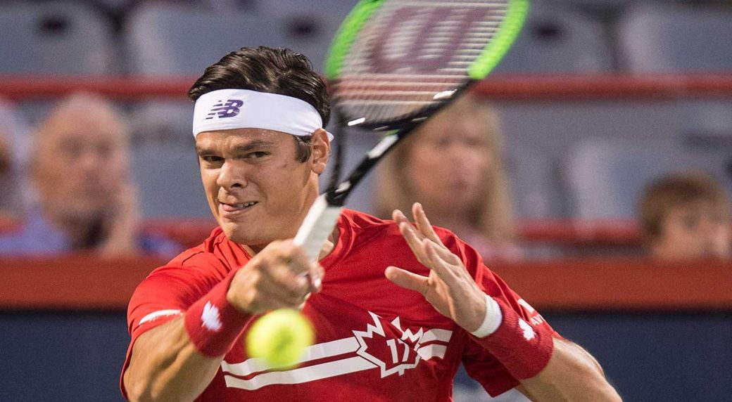 Canadian Raonic Crashes out in 2nd Round in Montreal