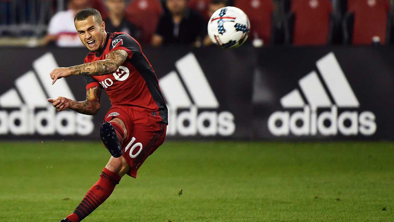 Toronto FC forward Sebastian Giovinco ruled out vs. Red Bulls