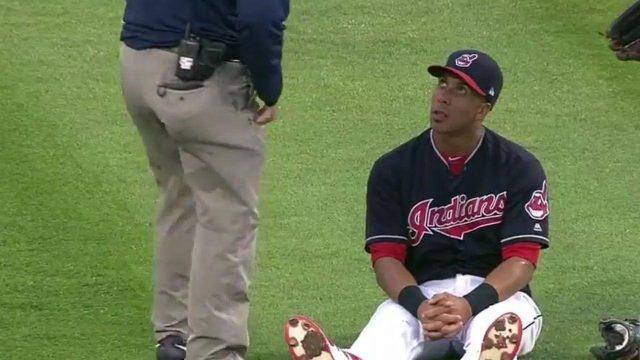 Yan Gomes hits three run homer in 9th as Indians stun Rockies