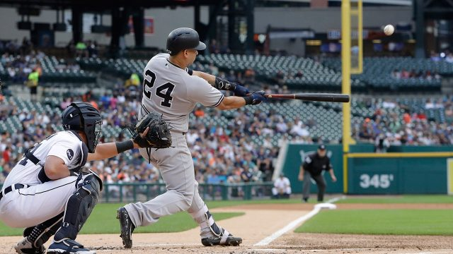 Gary Sanchez homers twice, Tanaka sharp as Yankees rout Tigers