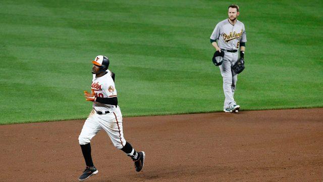 Adam Jones homers twice, Orioles beat Athletics