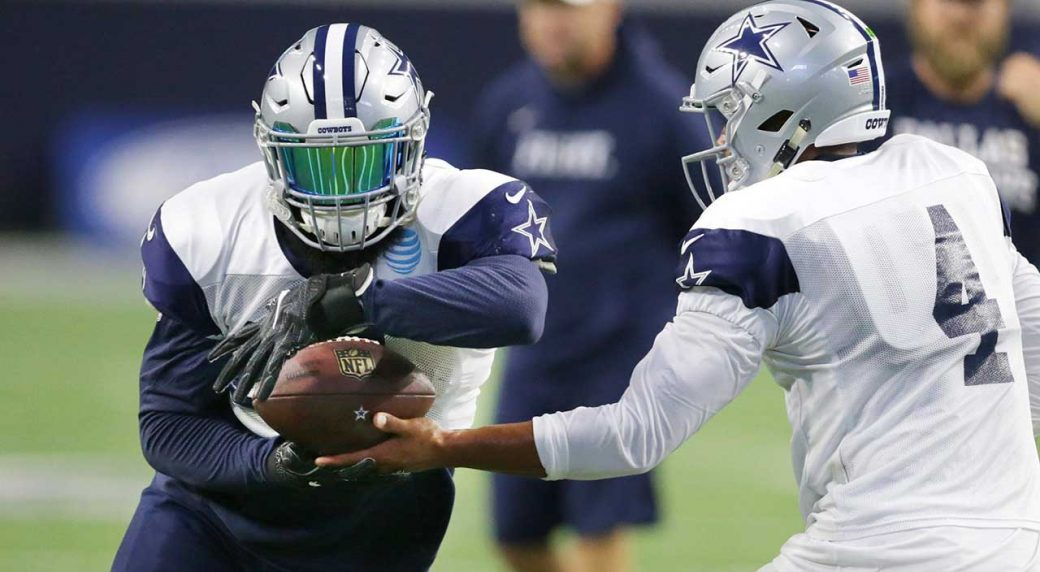 Cowboys rookie Cooper Rush is threatening to create a backup QB controversy