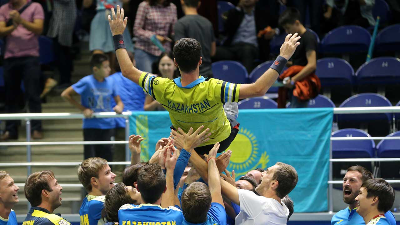 Davis Cup champion Argentina knocked out of top tier by Kazakhstan