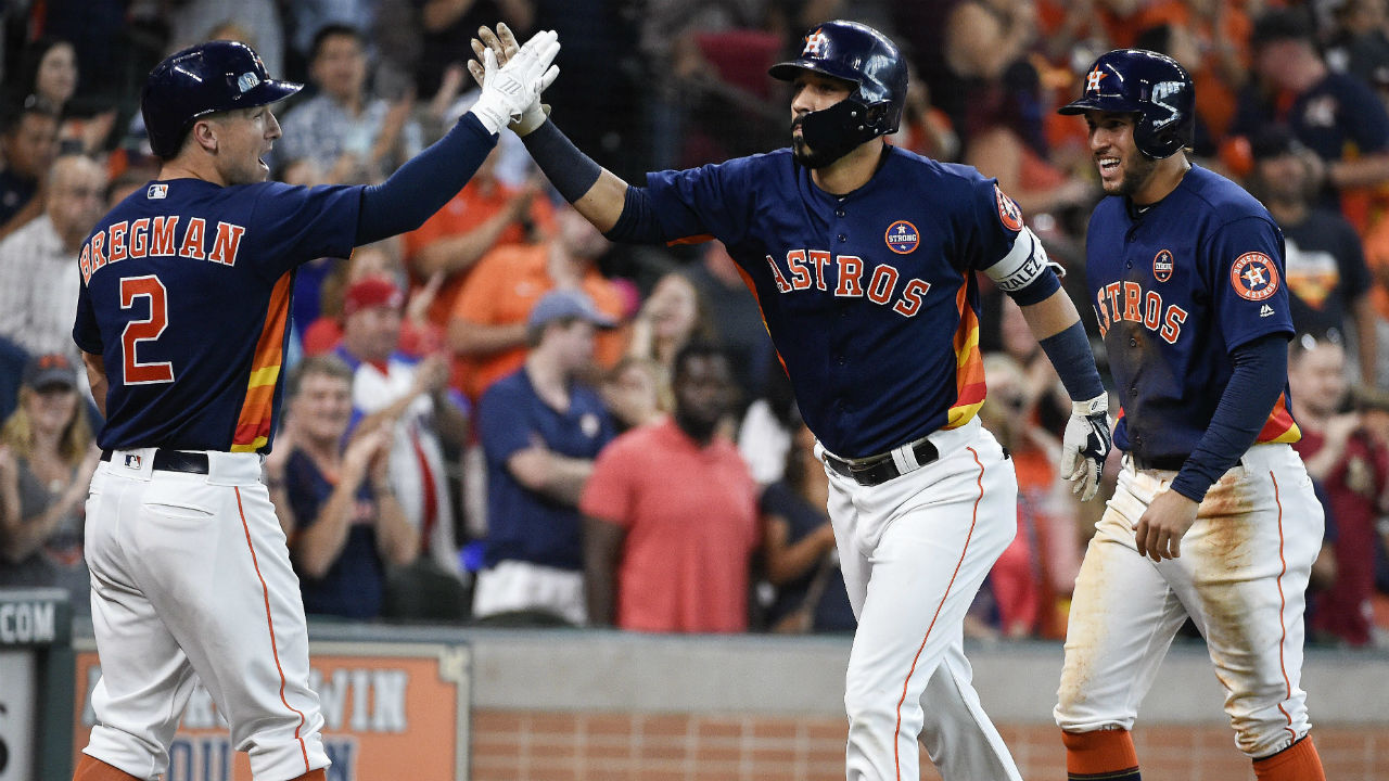 Astros clinch AL West with win over Mariners