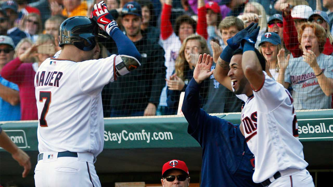 Twins overcome five-run deficit to topple Blue Jays