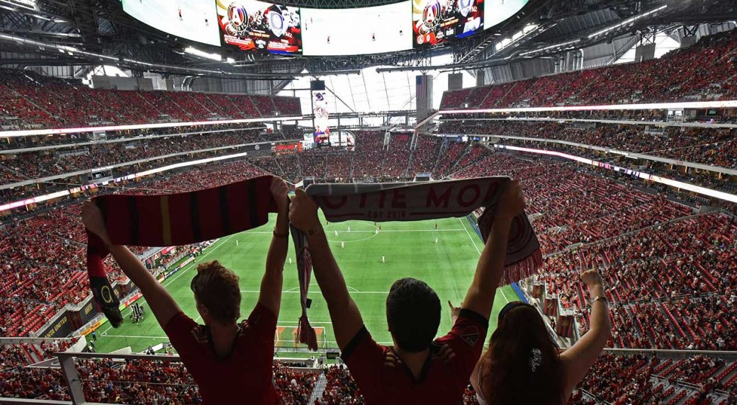 Atlanta United equals MLS record in win
