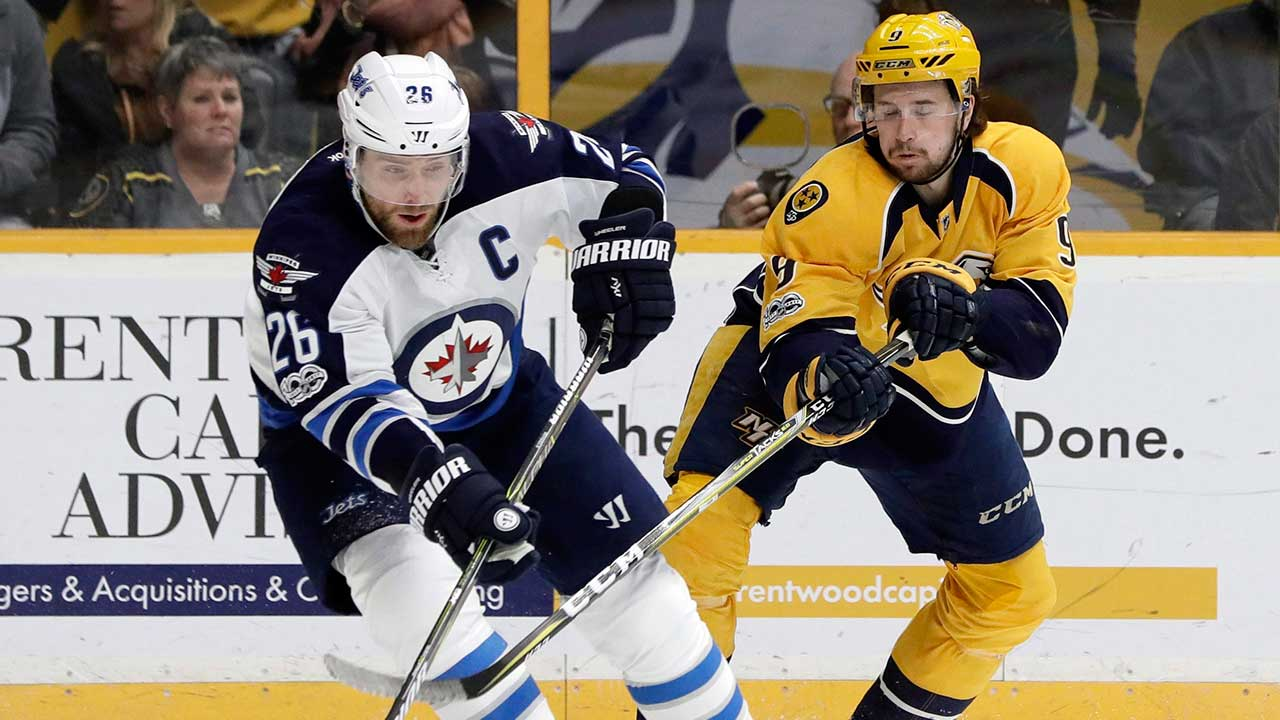 Jets captain Blake Wheeler calls out Donald Trump on Twitter