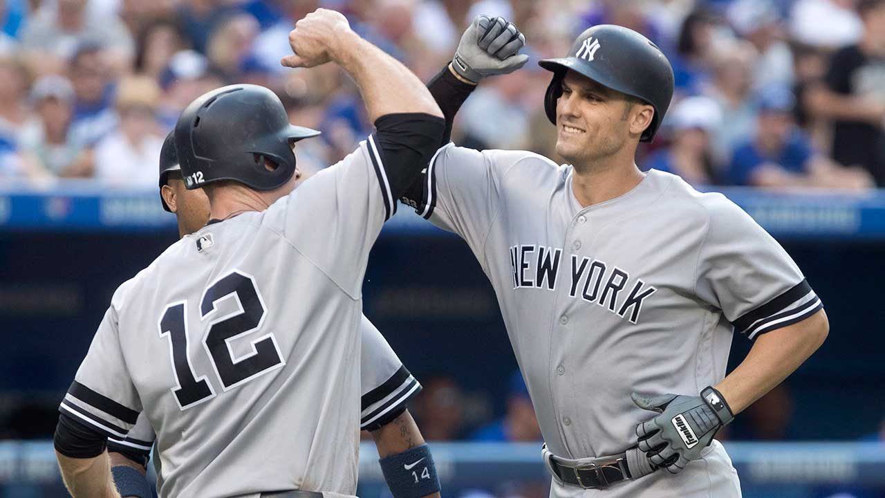 Yankees clinch playoff spot with win over Blue Jays