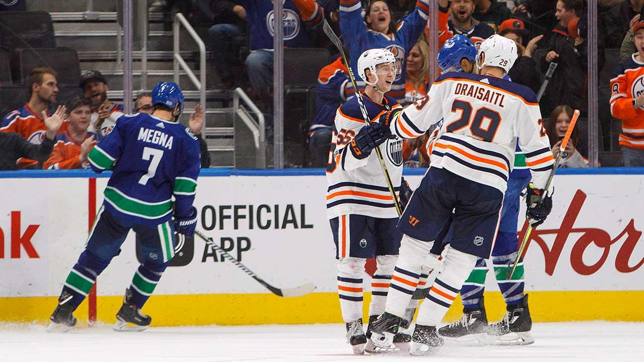 Yamamoto, Pakarinen both score twice as Oilers beat Canucks