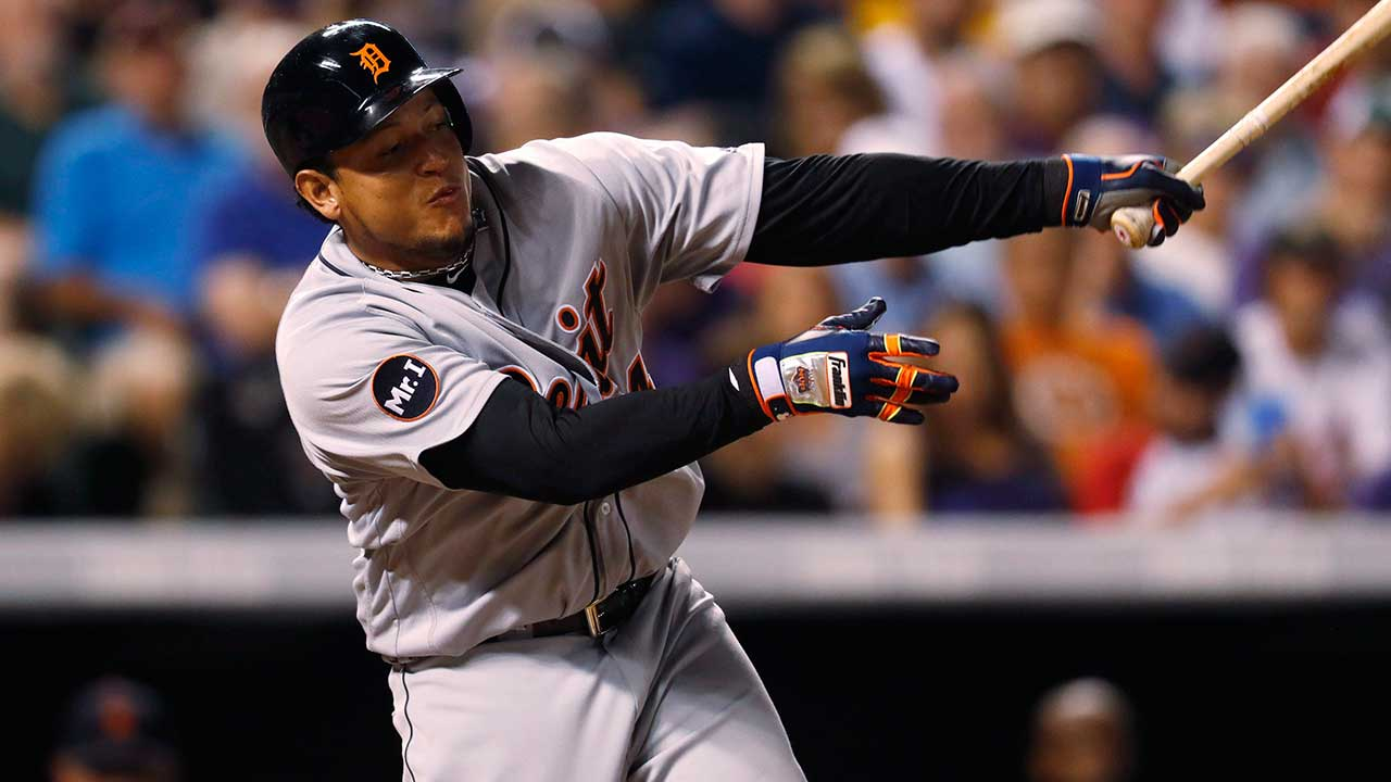 Tigers' Cabrera diagnosed with two herniated disks in back