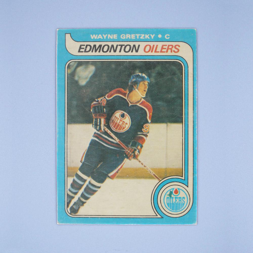 Edmonton Oilers Wayne Gretzky 1979 80 O Pee Chee 18