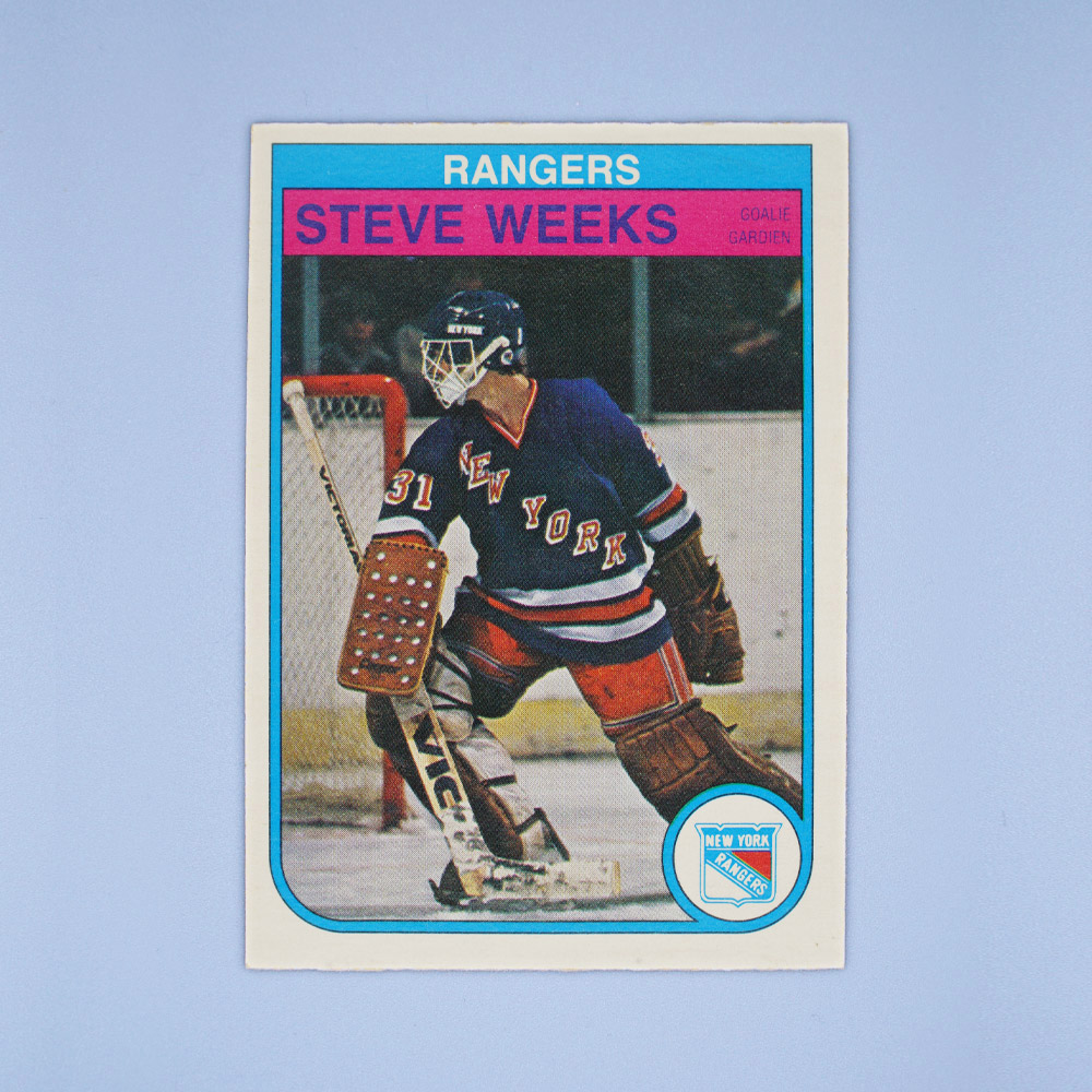 But Again Just Like Craig Ramsay This Card Is All About The Lid What A Beautiful Piece Of Technology New York Rangers