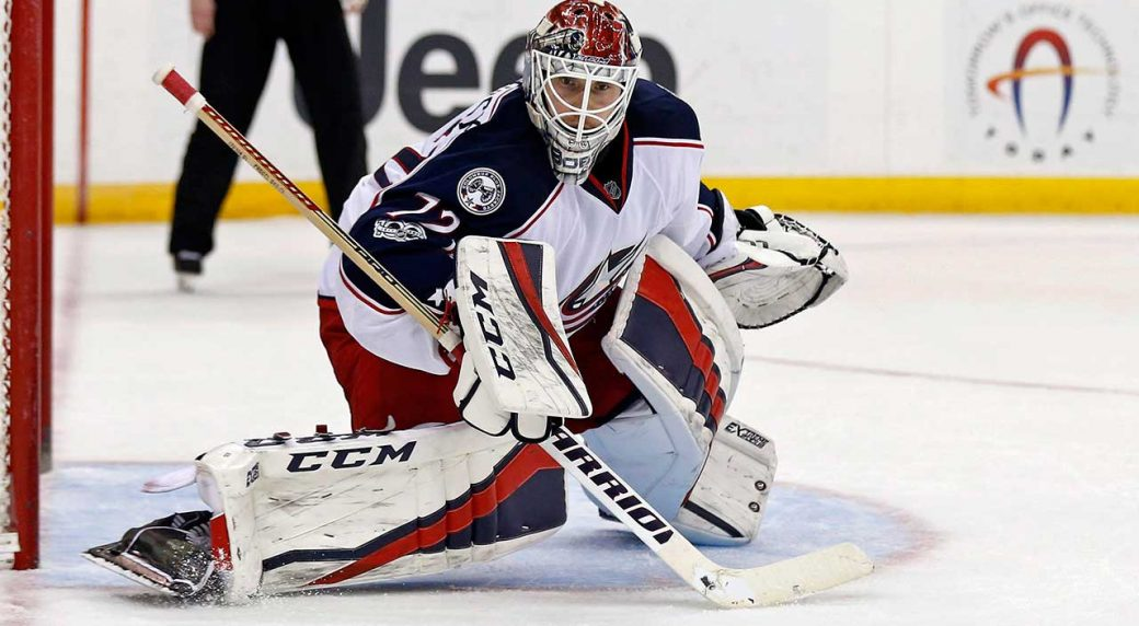 Blue Jackets bench Bobrovsky after unspecified 'incident'