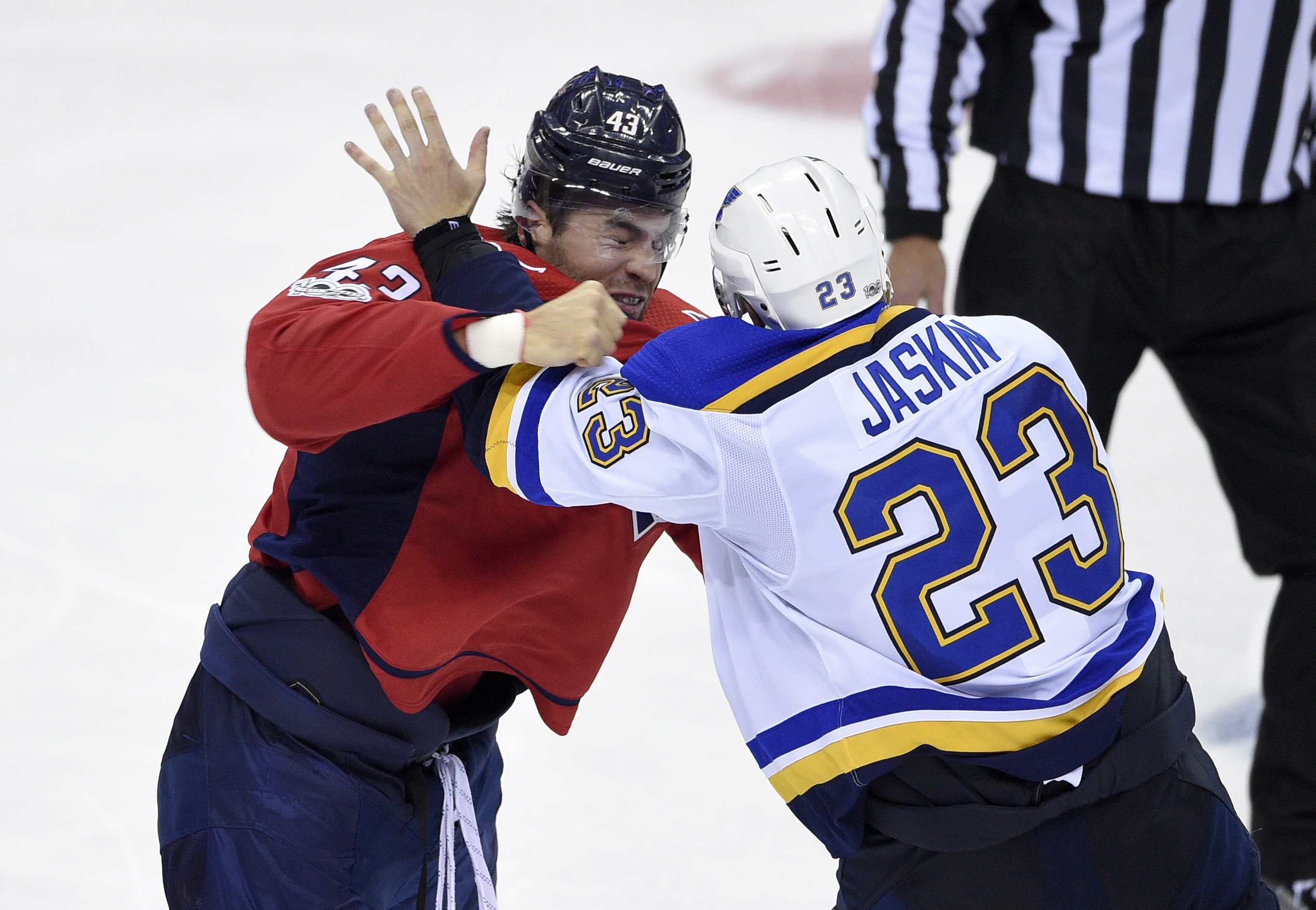 Capitals' Wilson to have hearing for hit on Blues' Thomas