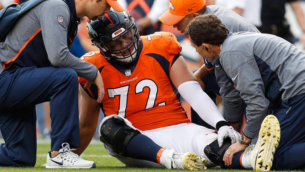 Broncos rookie Garett Bolles has bone bruise in left leg