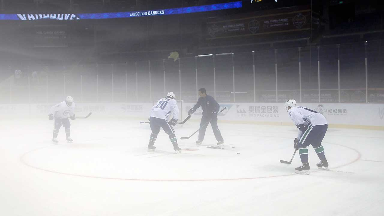 NHL hoping to make inroads in China with pre-season games