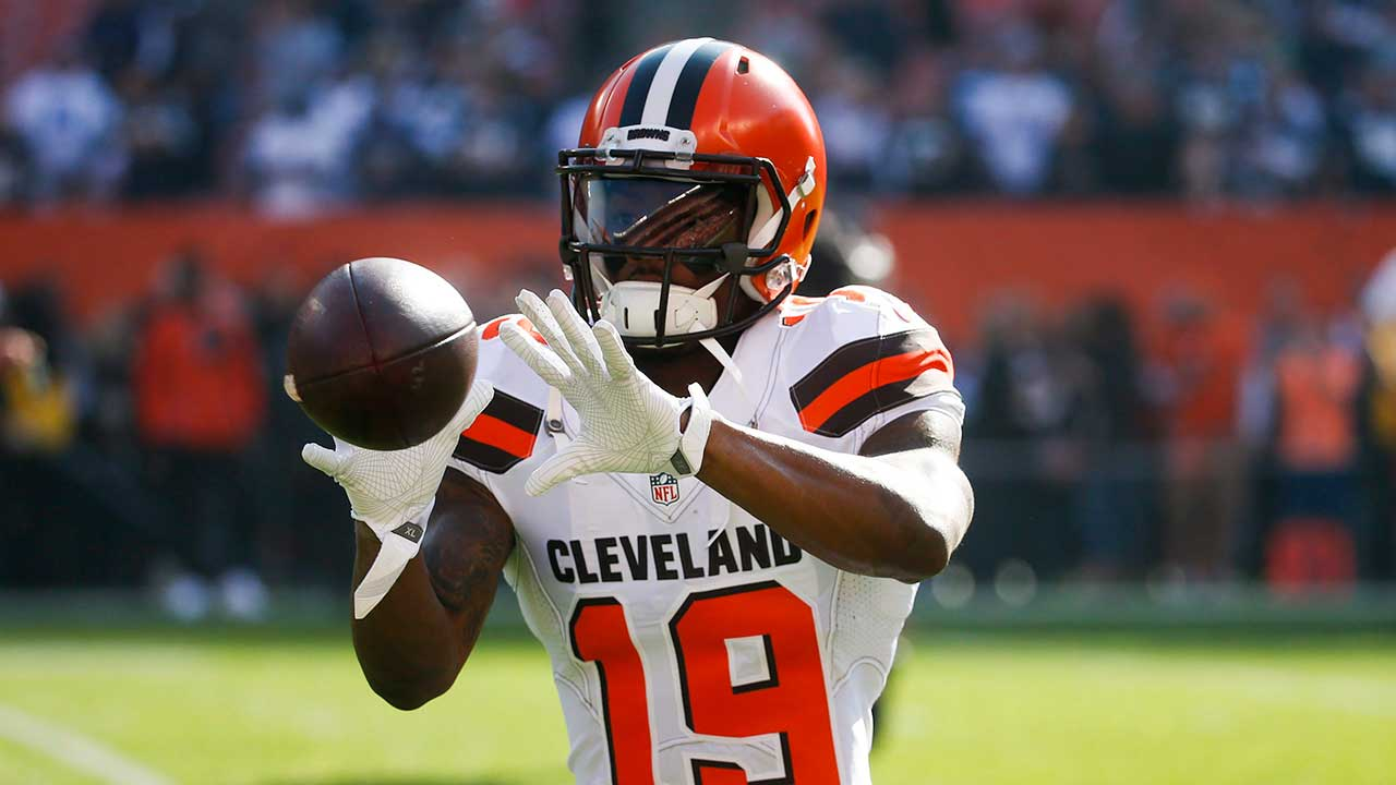 Browns place WR Coleman on injured reserve after surgery