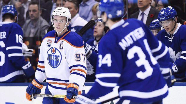 Connor-McDavid;-Auston-Matthews;-Toronto-Maple-Leafs;-Edmonton-Oilers