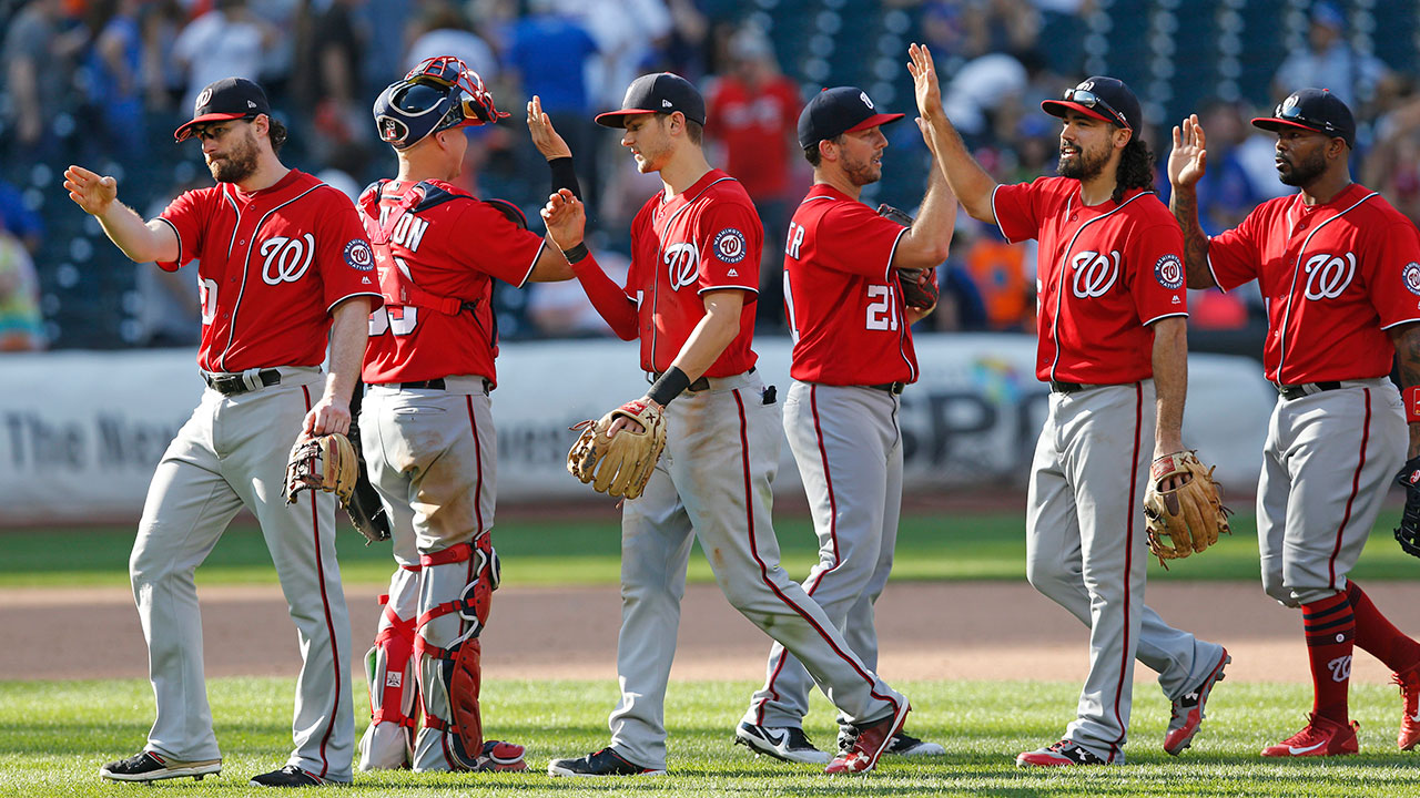 Scherzer, Nationals edge Mets to clinch NLDS home field