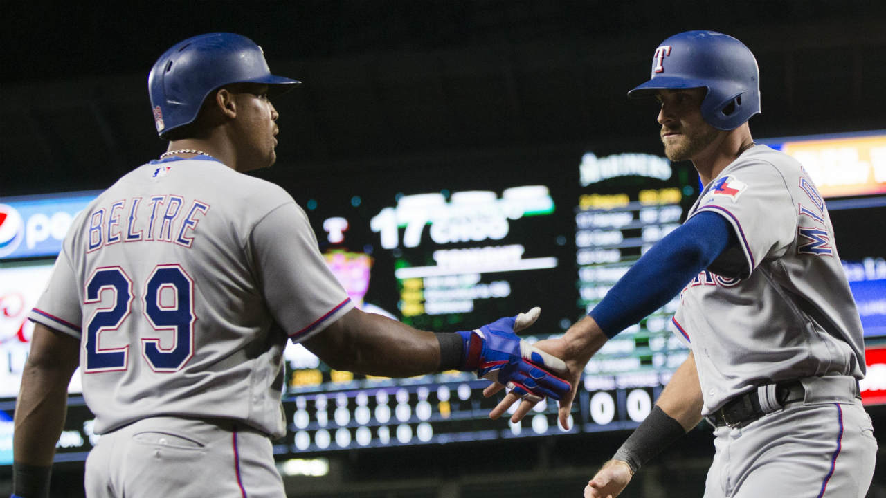 Rangers score twice in 8th inning for win over Mariners