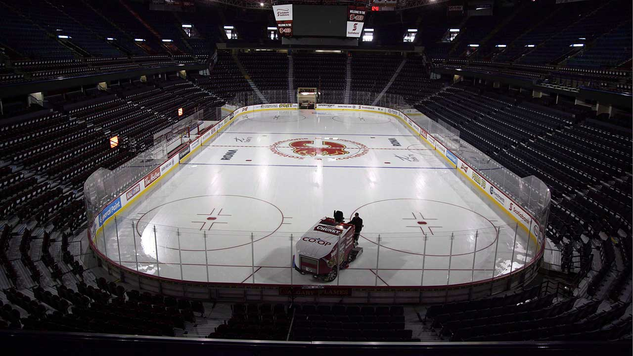 Alberta premier staying away from Flames arena debate