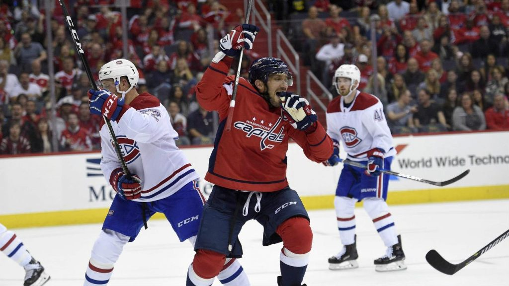 eb1ec8803fd Ovechkin gets historic hat trick as Capitals beat Canadiens - Sportsnet.ca