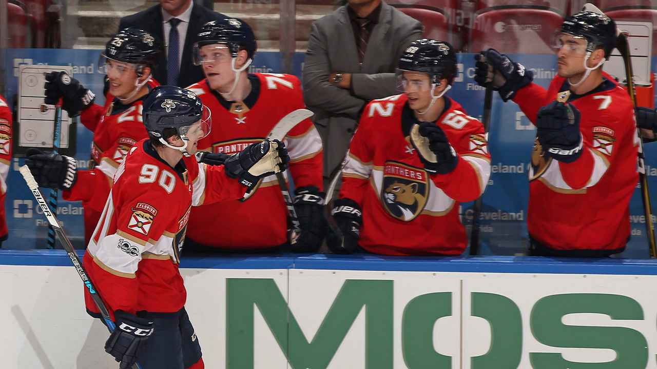 McCann has go-ahead goal after review, Panthers top Lightning