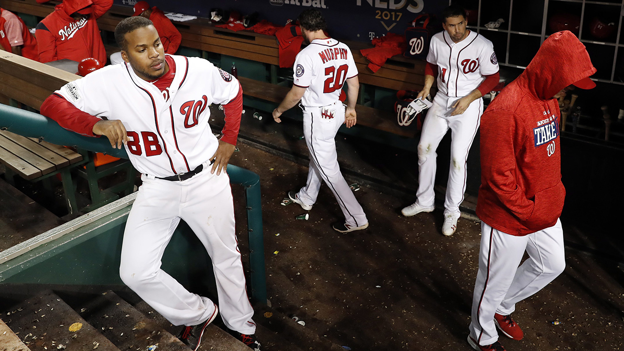 Nationals add another bizarre chapter to playoff disappointments