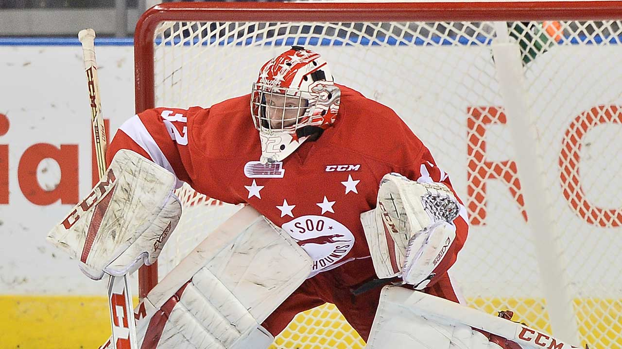 CHL: Notebook - Greyhounds' Goalie Situation A Major Plot Point