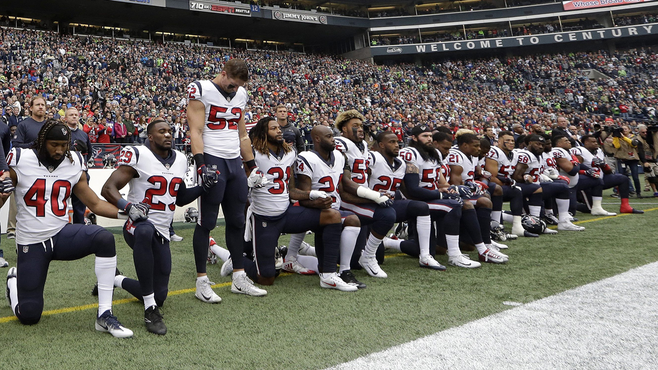 Nfl players union files grievance over anthem policy sportsnet fandeluxe Choice Image